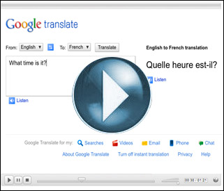 ICT Tip: Google Translate will translate text as you type