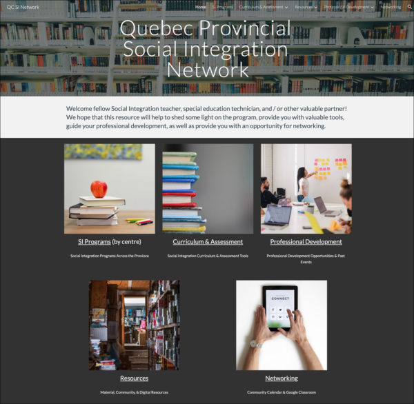 Quebec SI Website
